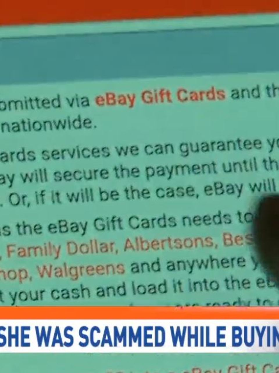 Scammers Take To Ebay To Trick Potential Buyers Kabb
