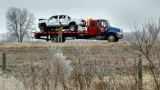 Semi crash jams I-80 between Odessa and Kearney