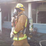 Video: Bakersfield firefighters save dog from house fire