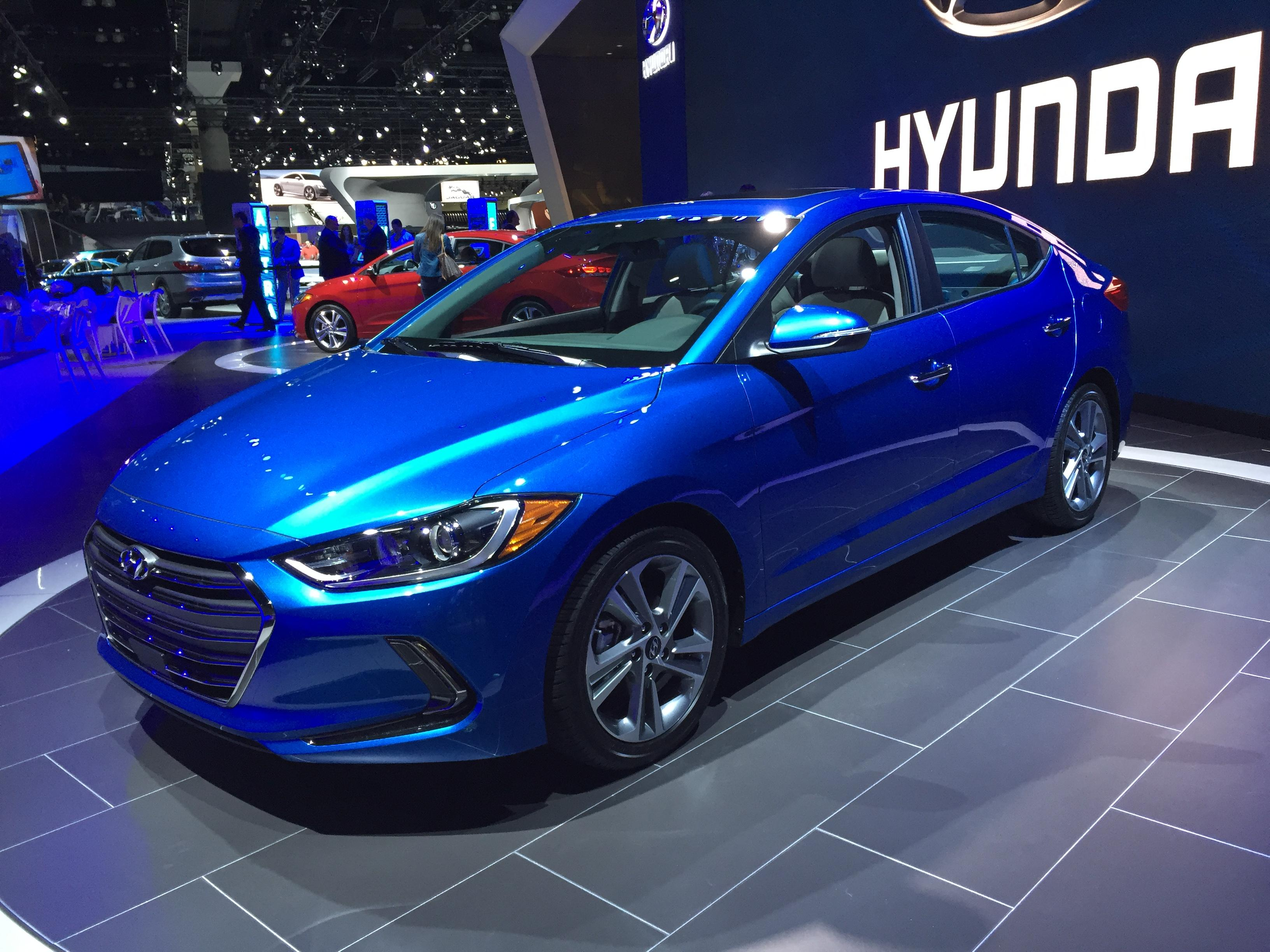 2017 Hyundai Elantra At The LA Auto Show