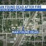 Man found dead after early morning fire