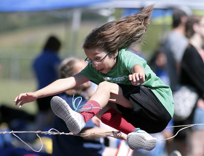Ashland area Elementary school students participated in the All District Track Meet at Ashland Middle School on Friday. [ // PHOTOS BY: LARRY STAUTH JR]