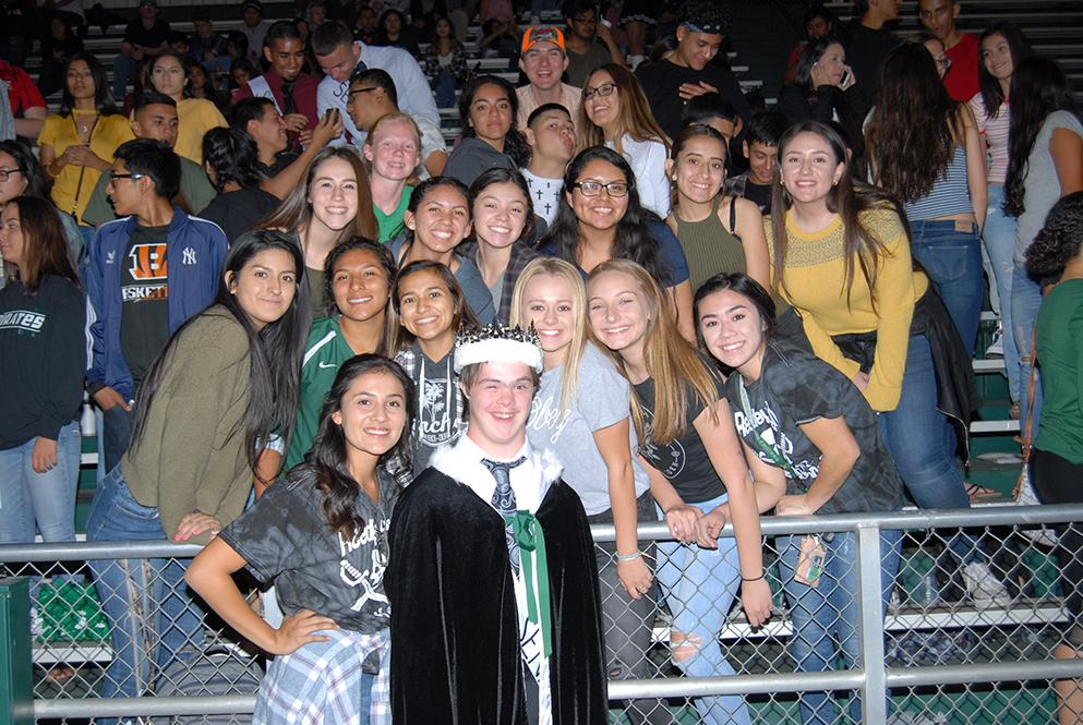 Jack Welsh is so adored by his classmates - they voted him Homecoming King in the fall.