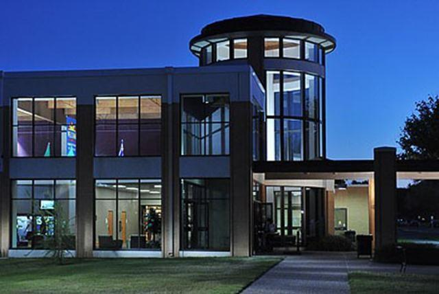 Encompassing more than 110,000 square feet of the Angelo State University campus, the Houston Harte University Center is a student union with all of the cutting-edge multimedia, technology, sound, and lighting features.