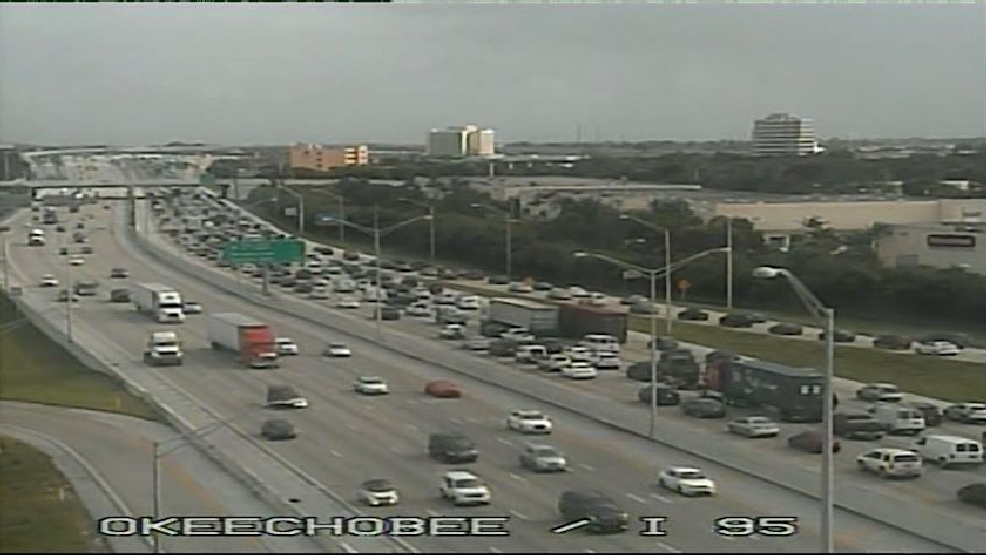 FHP: I-95 Southbound blocked at Southern Blvd  due to crash