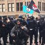 Blast balls, pepper spray: Protesters, police clash in downtown Seattle