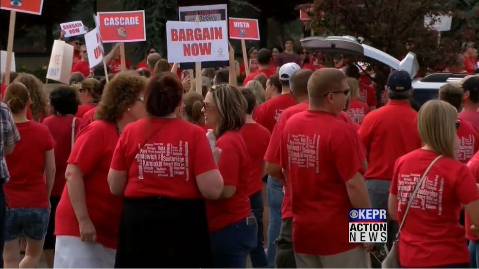 no contract no work if mediation fails kennewick educators may