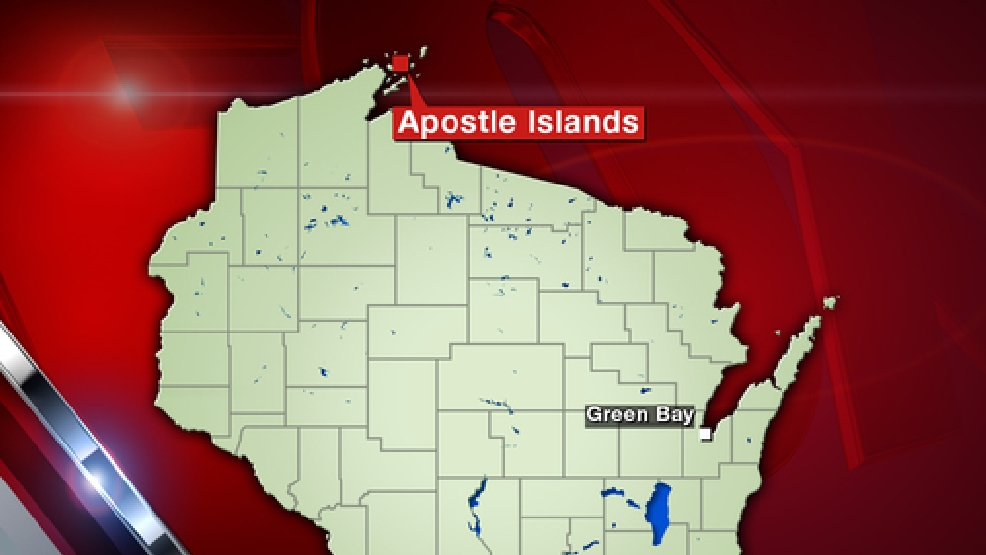 Map of Apostle Islands