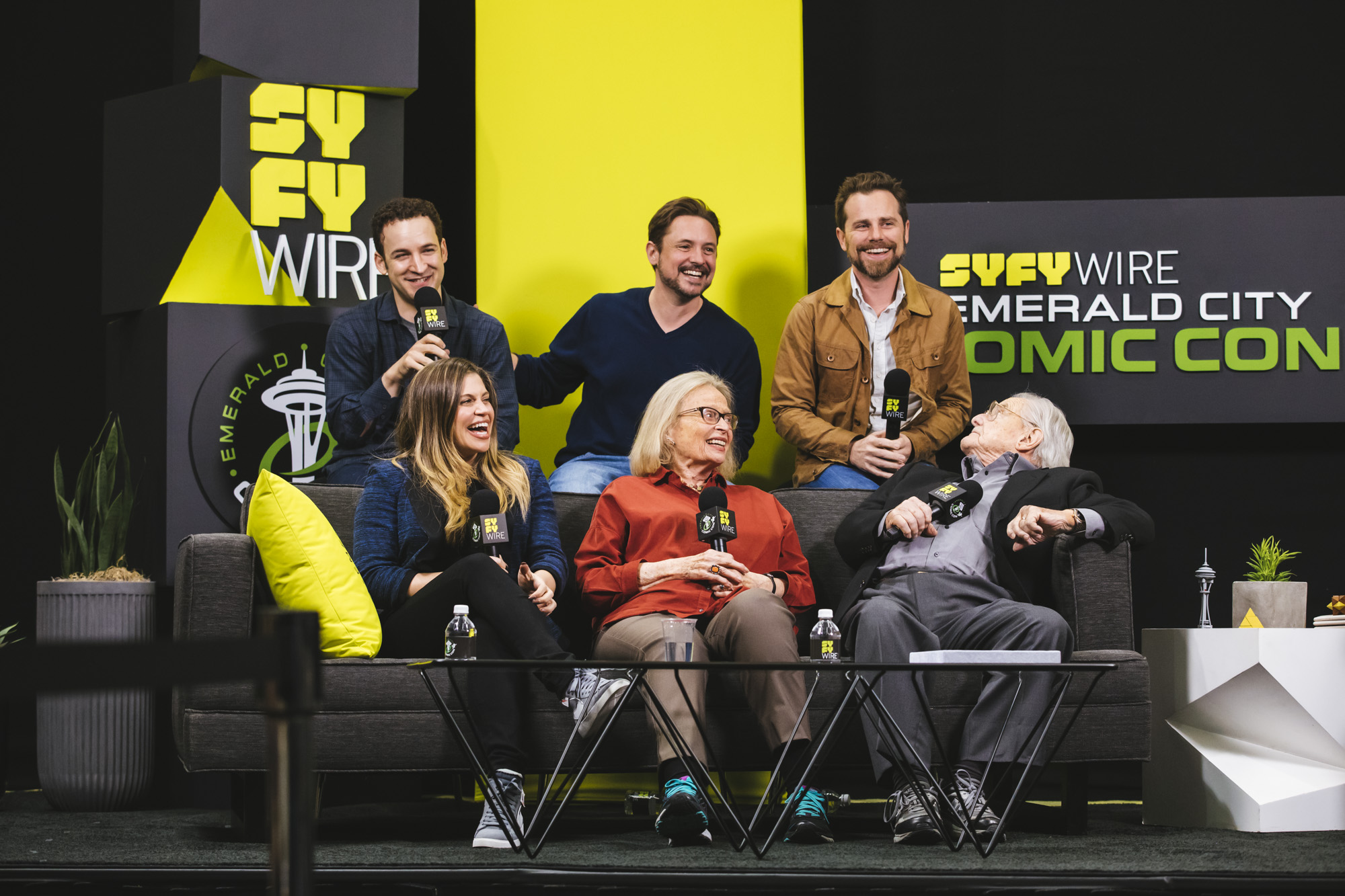 """Boy Meets World"" cast members, Gwendoline Christie from ""Game of Thrones"" and Seattle's own Rainn Wilson (""The Office"", ""Star Trek: Discovery"") were just some of the celebrities who attended Emerald City Comic Con. (Image: Sunita Martini / Seattle Refined)"