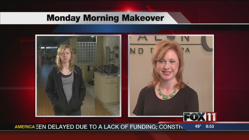 Johanna Monday morning makeover