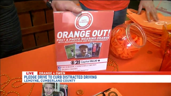 Tom Russell spreads awareness about distracted driving