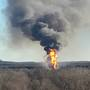 Officials: 5 employees missing after gas well explosion in Pittsburg County, Okla.