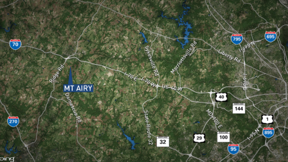 Motorcyclist dies after crash in Mt  Airy, Howard County | WBFF