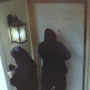 Caught on Camera:  Homeowner watches as people attempt to gain access to his home