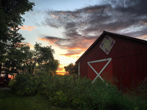 IMAGE: IG user @daniyo_13 / POST: Beautiful evening at the winery