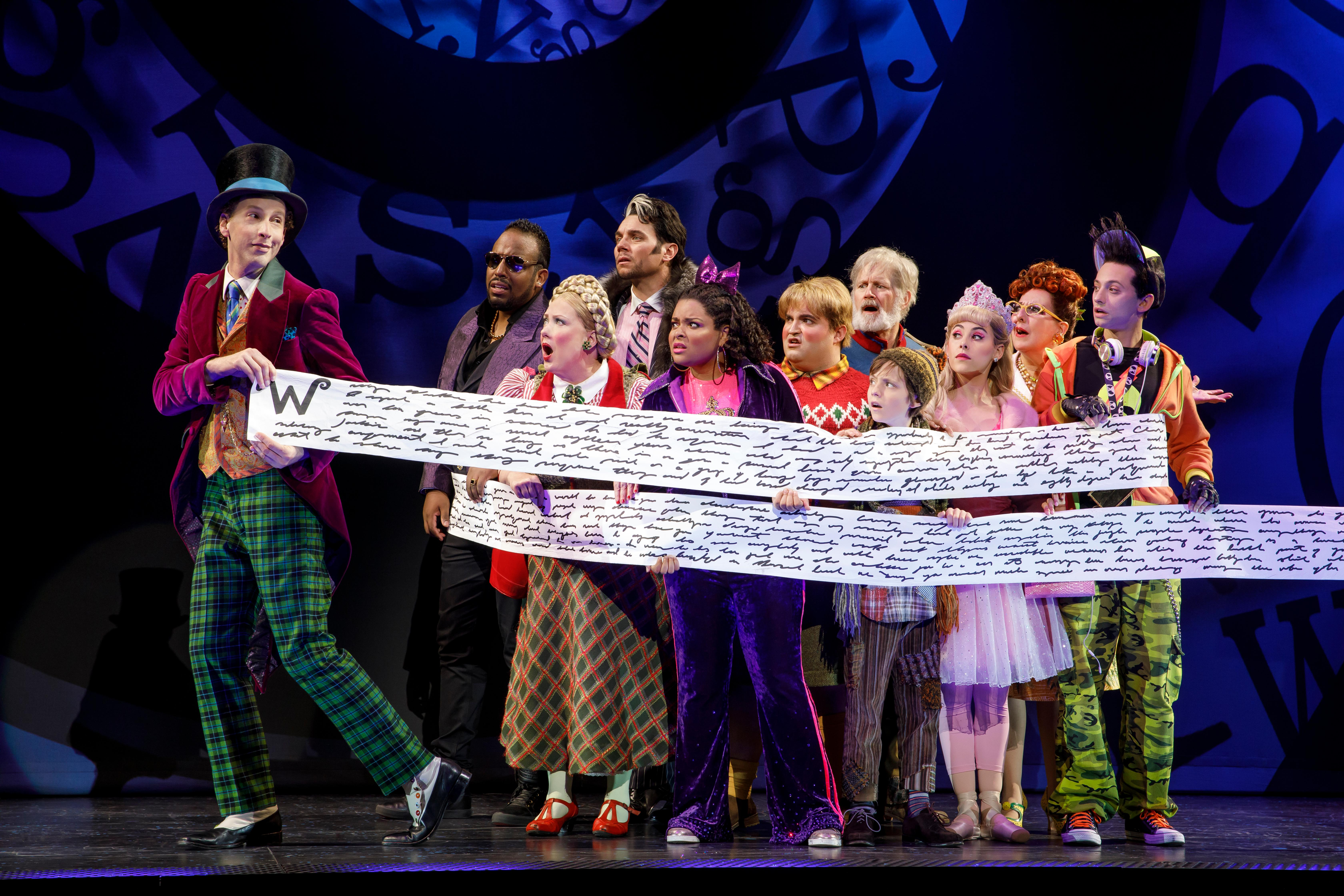 Charlie and the Chocolate Factory is the golden ticket when it comes to fun and fanciful musicals. (Courtesy Joan Marcus)