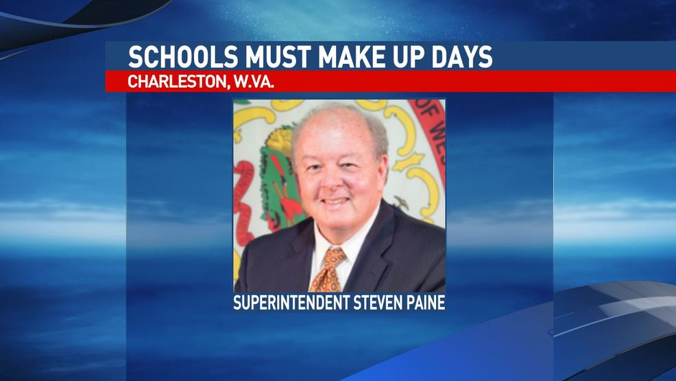 WV school superintendent talks about schools making up missed days