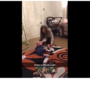 VIDEO: Big sister's reflexes go viral after saving little sister