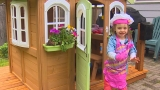 'It's kind of her little escape': Girl Scouts'playhouse helps child with heart transplant