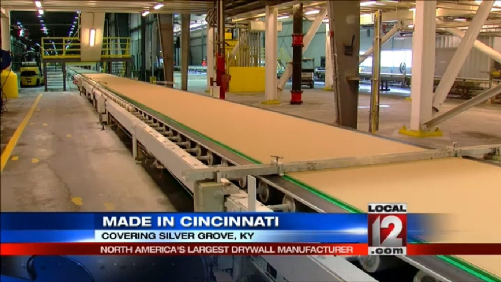 Silver Grove has N  America's largest drywall manufacturer