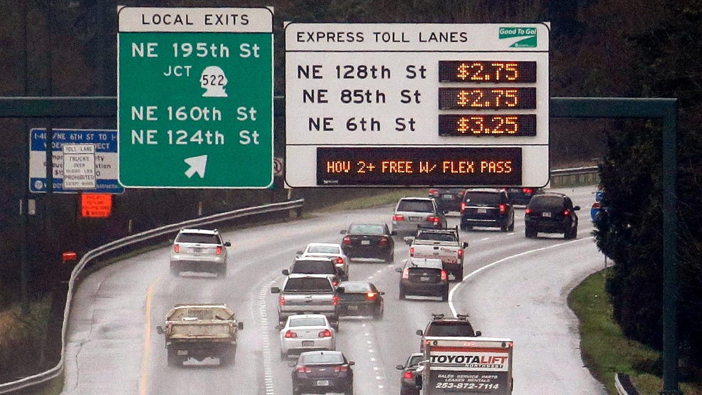 Latest I-405 tolling decision will have election implications