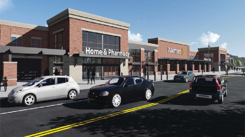 A look at the latest Walmart rendering released on Thursday, May 8, 2014. (Walmart)