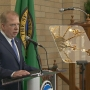 Seattle mayor Ed Murray delivers State of City address from Northgate mosque
