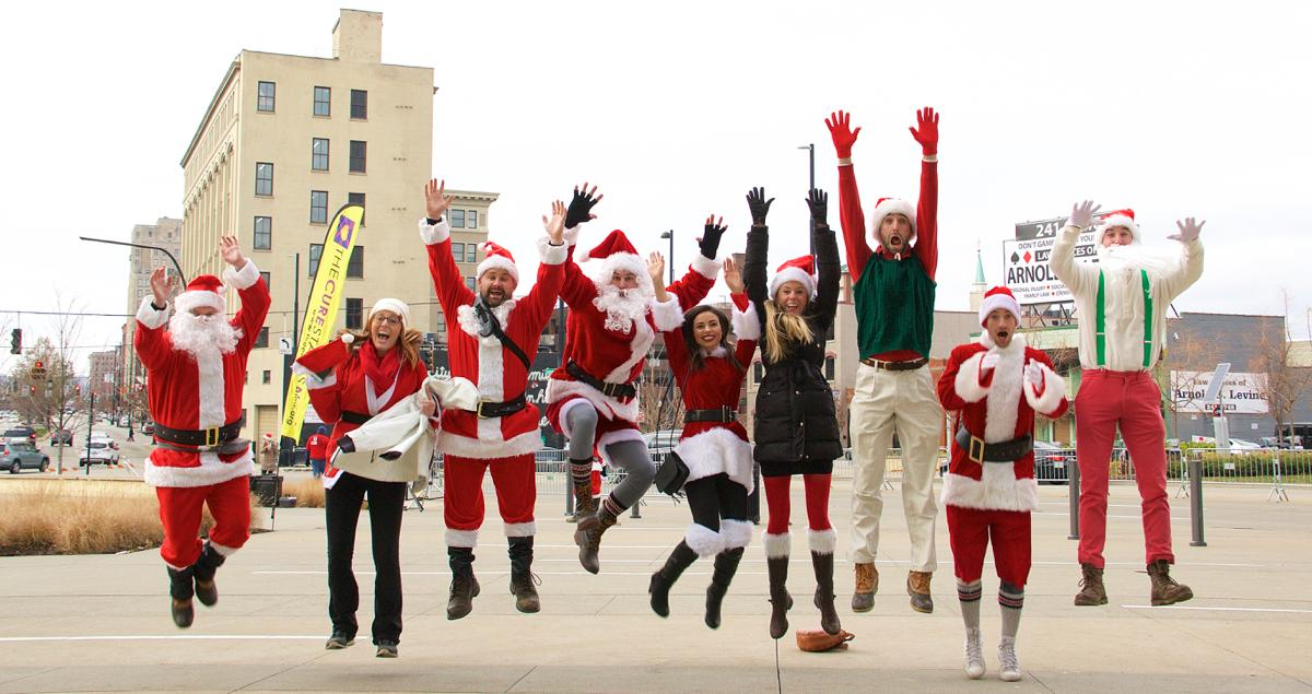 The 9th annual Cincinnati Santacon (a pub crawl where thousands of people dress like Santa) took over Downtown and Over-the-Rhine on Saturday, Dec. 10. / Image: Dr. Richard Sanders