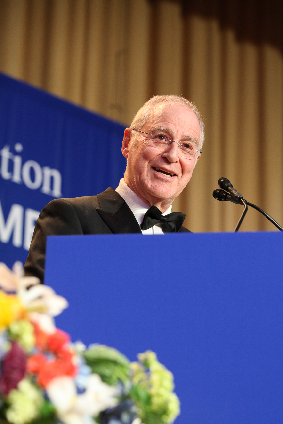 The 2019 White House Correspondents' Dinner may not have been packed with the celebrities of years past, but the focus was squarely on the journalists.{ }Olivier Knox, the president of the White House Correspondents' Association, kicked off the remarks by talking about the real threats journalists face at home and abroad, calling special attention to the kidnapping of freelance journalist Austin Tice, who was last seen reporting in Syria in 2012. The evening also included honoring the work of journalists who cover the White House and awarding select student journalists who show a lot of promise. Perhaps the biggest surprise of the night was the remarks from historian Ron Chernow. Although Chernow replaced the traditional comedy entertainment, he served up plenty of pointed jokes, while still offering some history lessons about the relationship between the press and politics. (Amanda Andrade-Rhoades/DC Refined)