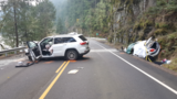 2 killed in head-on crash on Hwy 38 near Reedsport; speed, icy roads likely factors