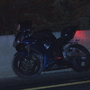 Motorcycle crashes into barrier on Route 146