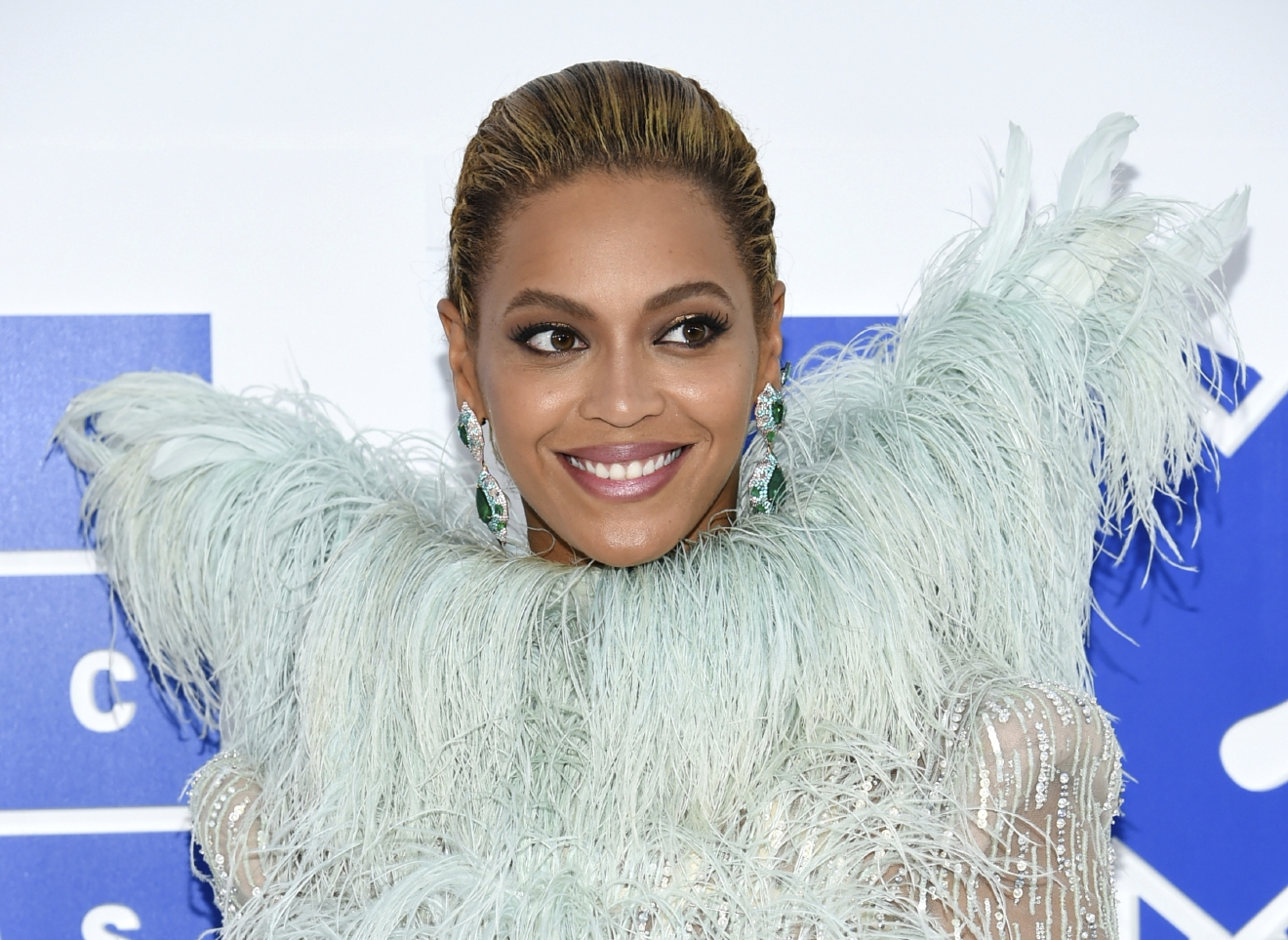 "FILE - In this Aug. 28, 2016 file photo, Beyonce Knowles arrives at the MTV Video Music Awards at Madison Square Garden, in New York. Beyonce performed ""Daddy Lessons,"" Wednesday, Nov. 2, at the 50th annual CMA Awards in Nashville, Tenn. (Photo by Evan Agostini/Invision/AP, File)"