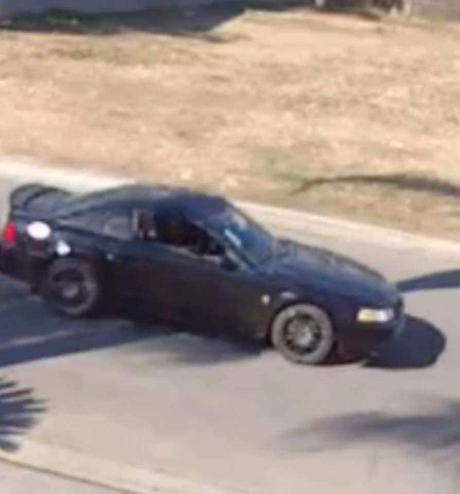 Vehicle used in a Fresno package theft. (Special to Fox 26)
