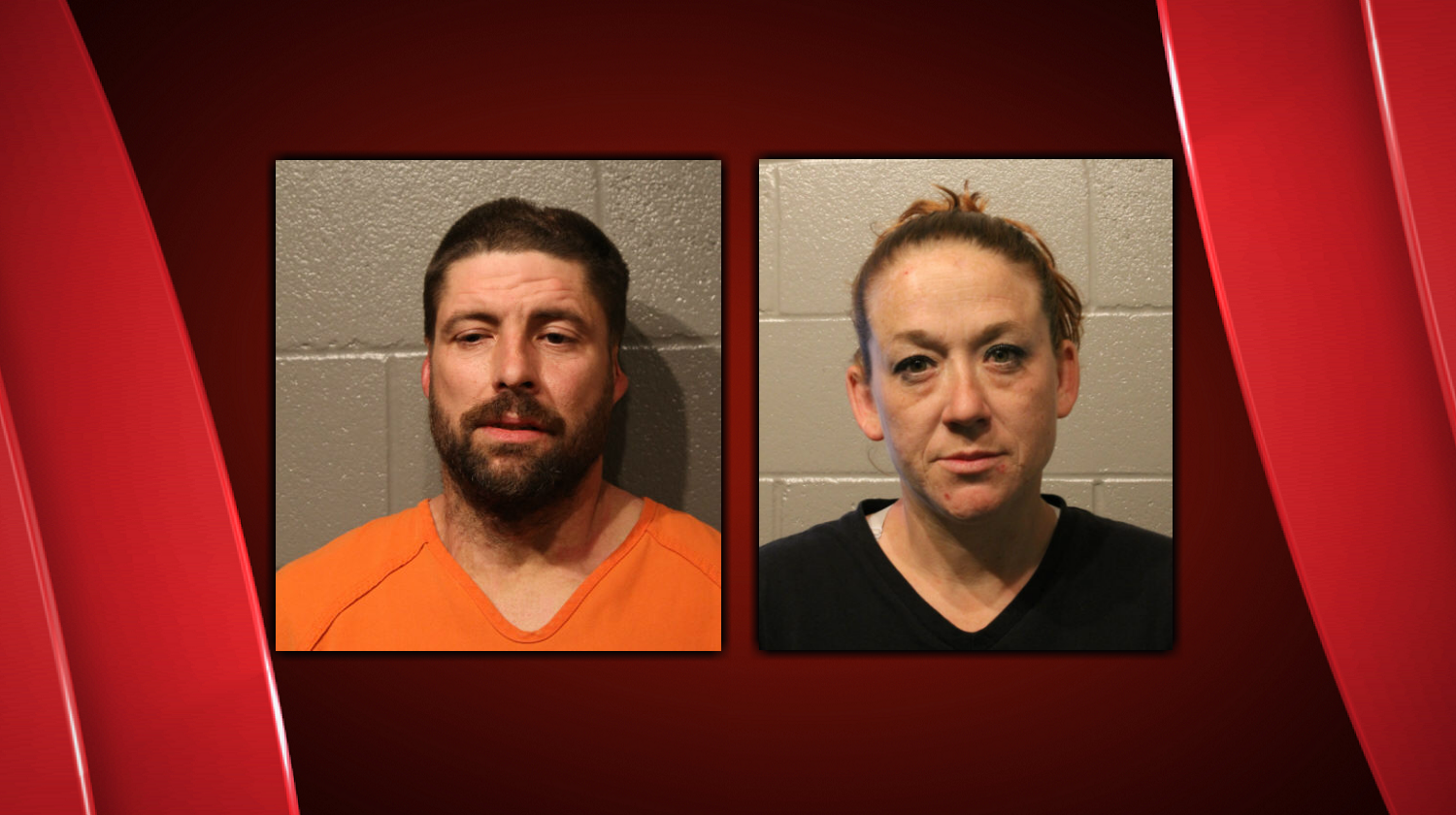Bryant Schivers and Tara Springfield were taken into custody in Converse, Tx on Sunday, August 6, 2017.  (OK Department of Public Safety)