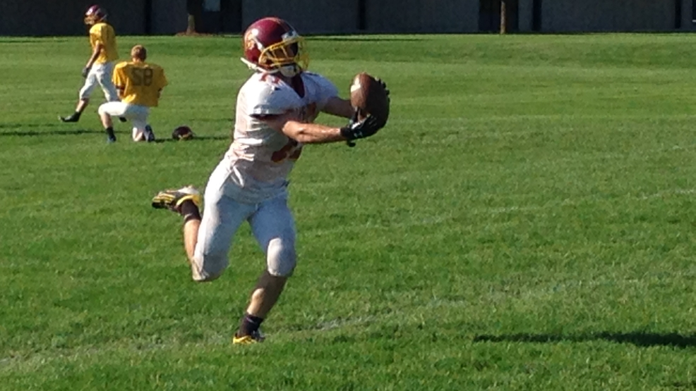 Luxemburg-Casco hopes to catch West De Pere by surprise on Friday. (Doug Ritchay/WLUK)