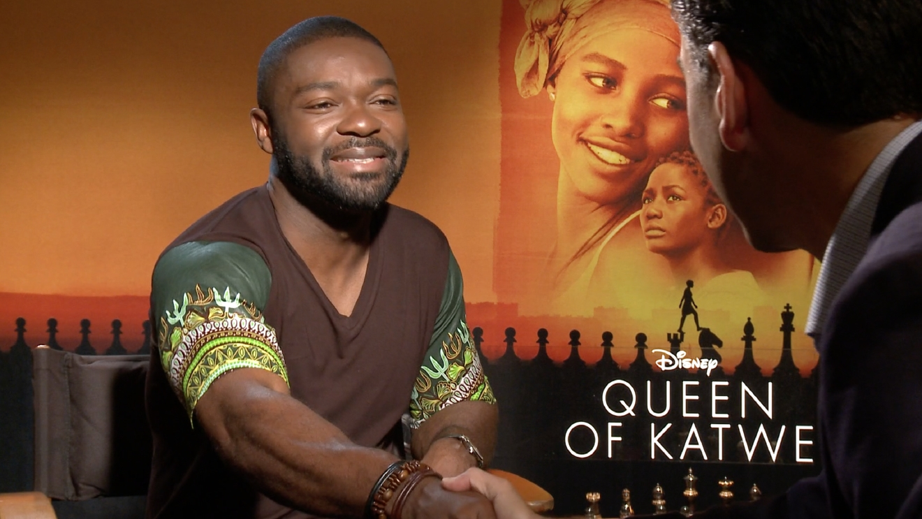 "David Oyelowo as Robert Katende in Disney's ""Queen of Katwe"""