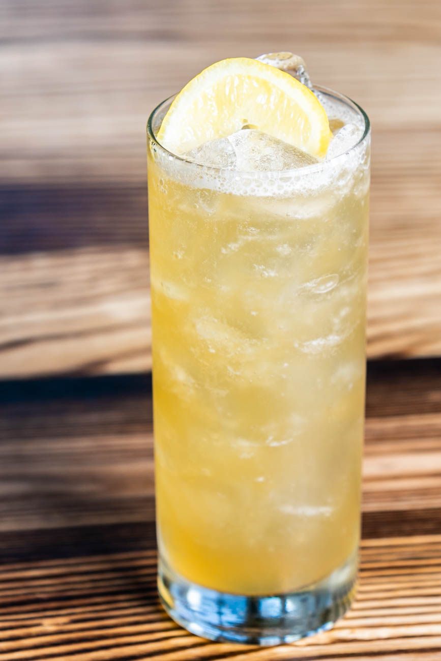The Covington Iced Tea: vodka, cold brew, simple, lemon, and San Pellegrino / Image: Amy Elisabeth Spasoff // Published: 5.31.18