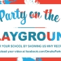 "How to win a ""Party on the Playground"" for your school"