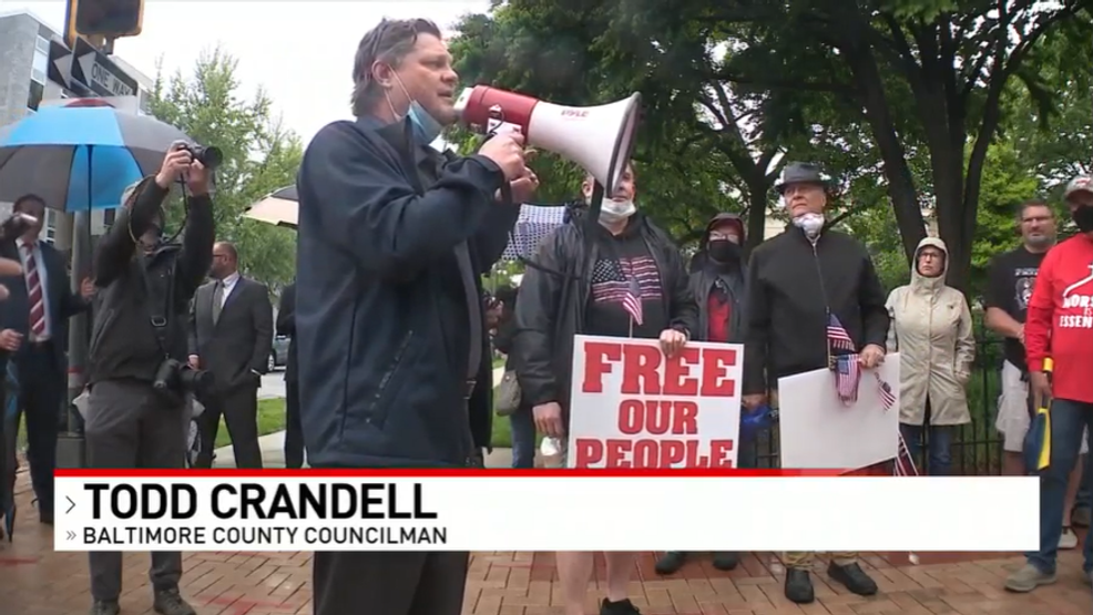 County Councilman takes part in 'Reopen Baltimore County' rally