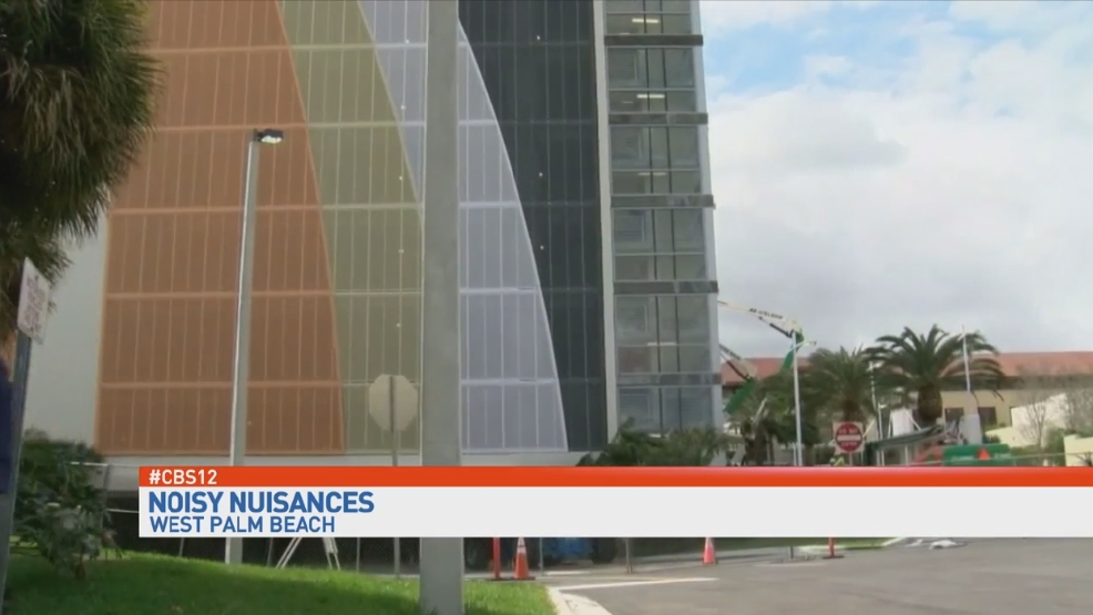 Wpb residents annoyed by howling sound from nearby parking for Garage door repair palm beach gardens