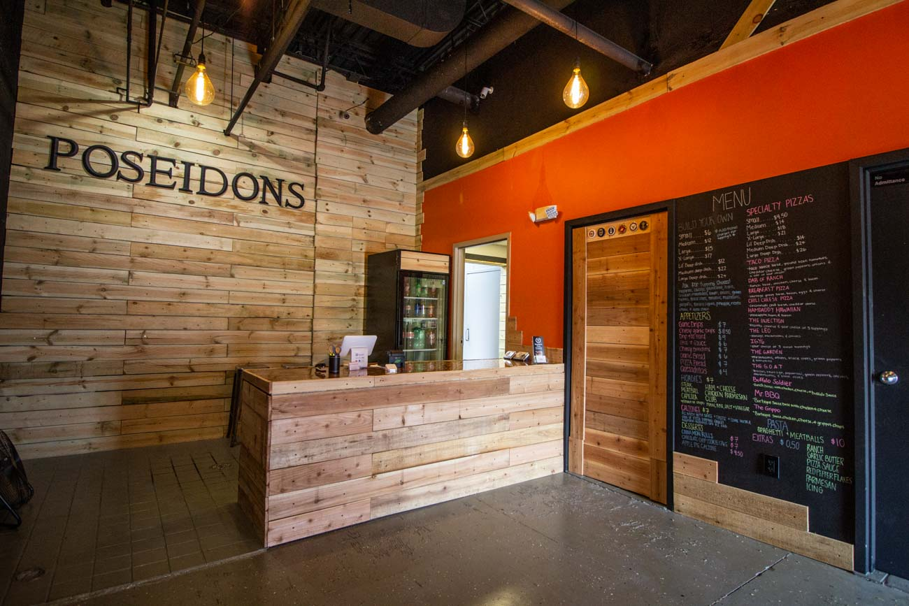 Jay Bachmann, founder and owner of Poseidon's Pizza Company, didn't have much pizza experience prior to opening the first Poseidon's in Florence in 2019, but that didn't stop him from wanting to provide people with a fresh carryout concept where pizza is made with non-GMO and MSG-free ingredients. The specialty pizzas, which come in regular or deep dish style, feature fresh sauce and dough made daily as well as cheese that is shredded in-house without the chemicals of prepackaged shredded cheese. You can find Poseidon's in Florence, Hebron (pictured), and in a Crescent Springs location in the near future. HEBRON ADDRESS: 2091 N Bend Road (41048) / Image: Katie Robinson, Cincinnati Refined // Published: 7.8.20