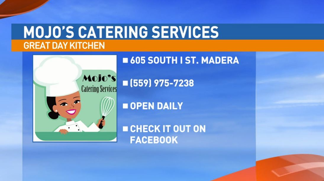 "Chef Moneshay ""Moe"" Platt, from Mojo's Catering Services, visited the Great Day Kitchen to prepare some delicious food."