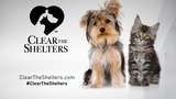 Clear the Shelters coming up Friday #LiveOnKMTR