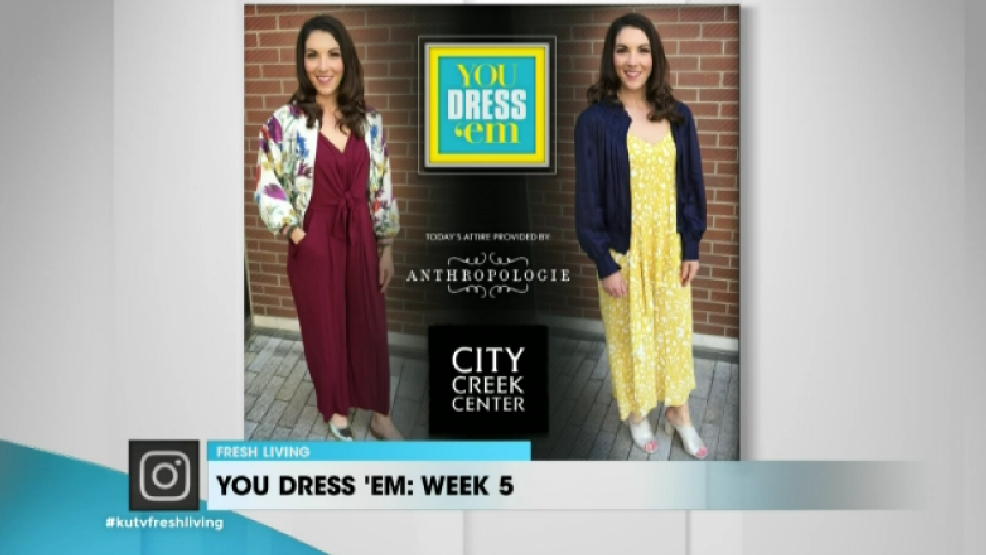 Week 5 You Dress 39 Em With City Creek Center And