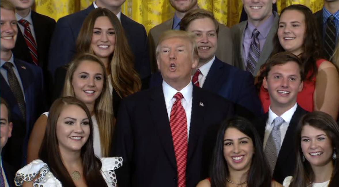 President Trump Rolls His Eyes Smirks After Being Asked