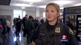 Oregon law enforcement agencies look to hire more women