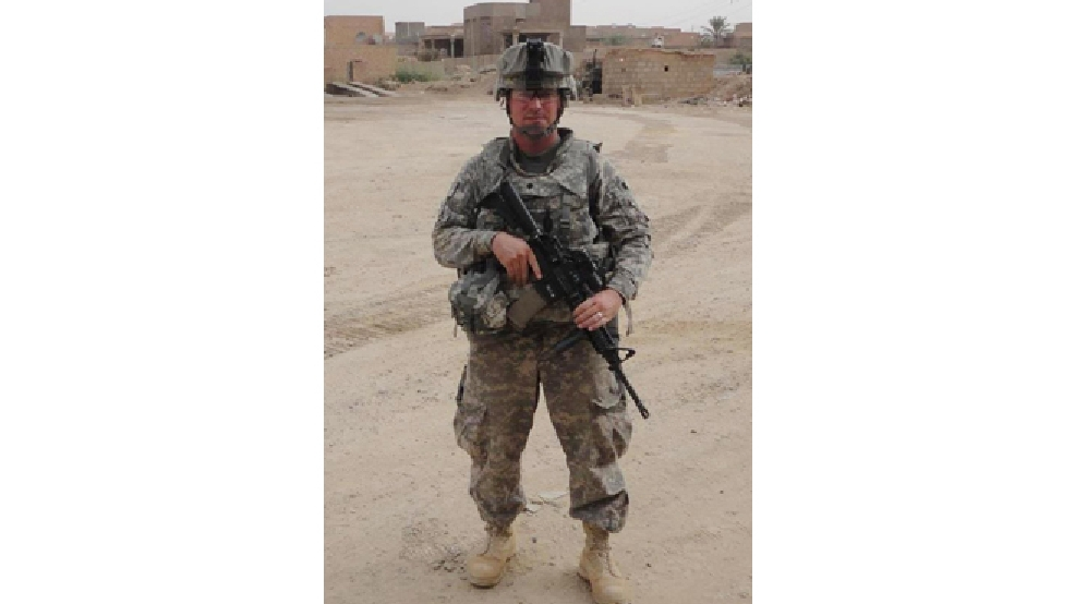 This photo provided by Glidden Lopez shows Army Spc. Ivan Lopez. (AP Photo/Courtesy of Glidden Lopez)