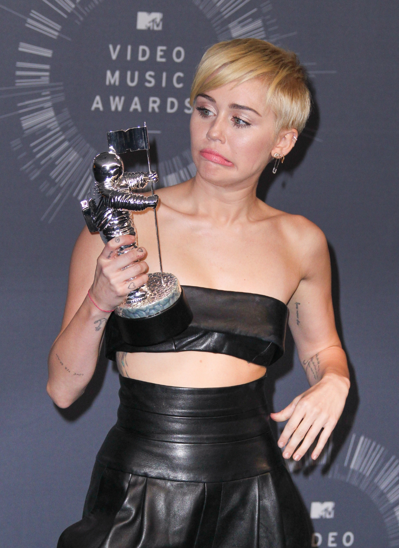 2014 MTV Video Music Awards (VMAs) held at The Forum - Press Room  Featuring: Miley Cyrus Where: Los Angeles, California, United States When: 24 Aug 2014 Credit: Bridow/WENN.com