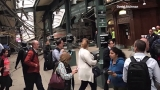 New Jersey train crashes into terminal; 75 people injured, at least one dead