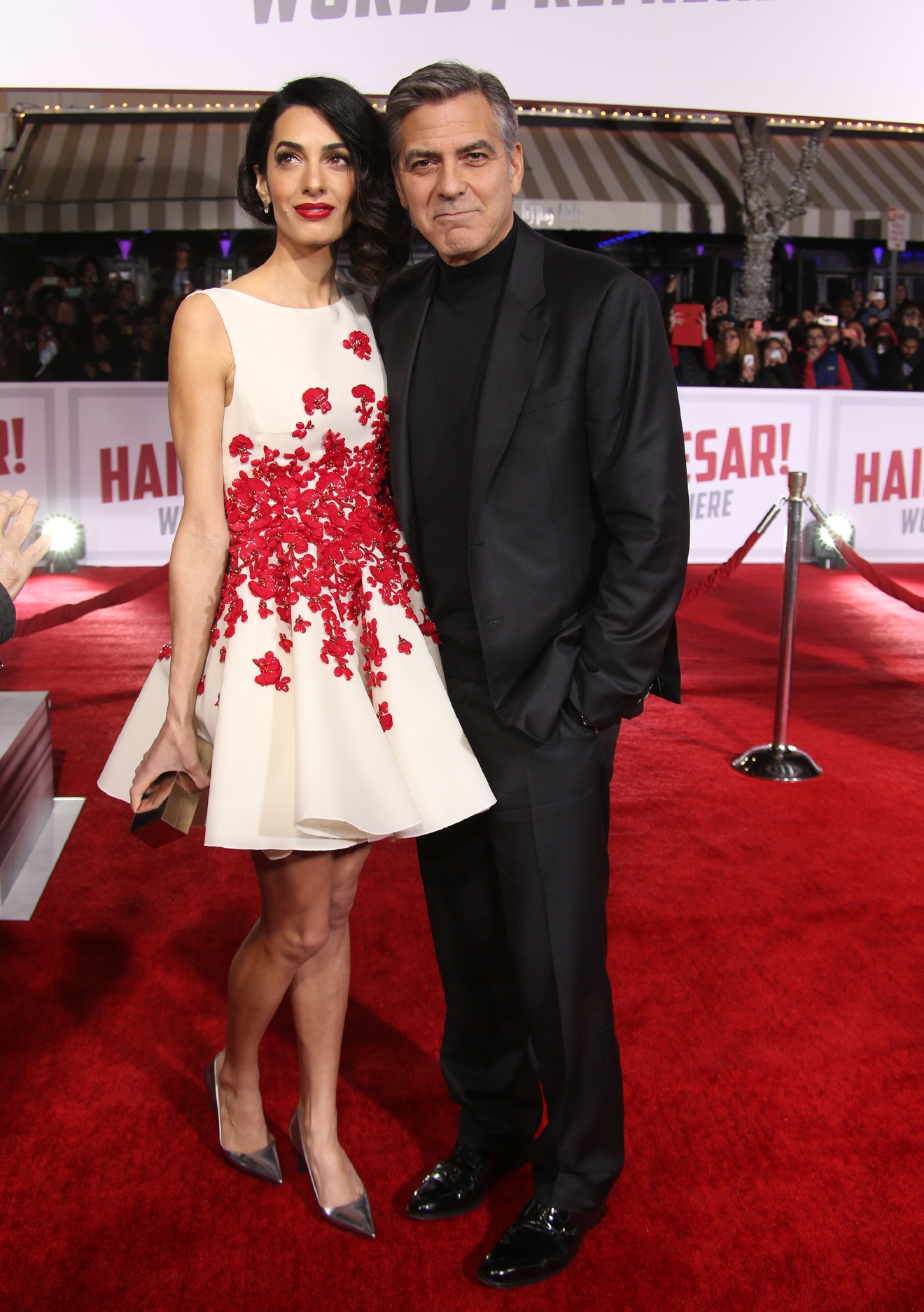 "Premiere Of Universal Pictures' ""Hail, Caesar!""                                    Featuring: Amal Clooney, George Clooney                  Where: Westwood, California, United States                  When: 02 Feb 2016                  Credit: FayesVision/WENN.com"